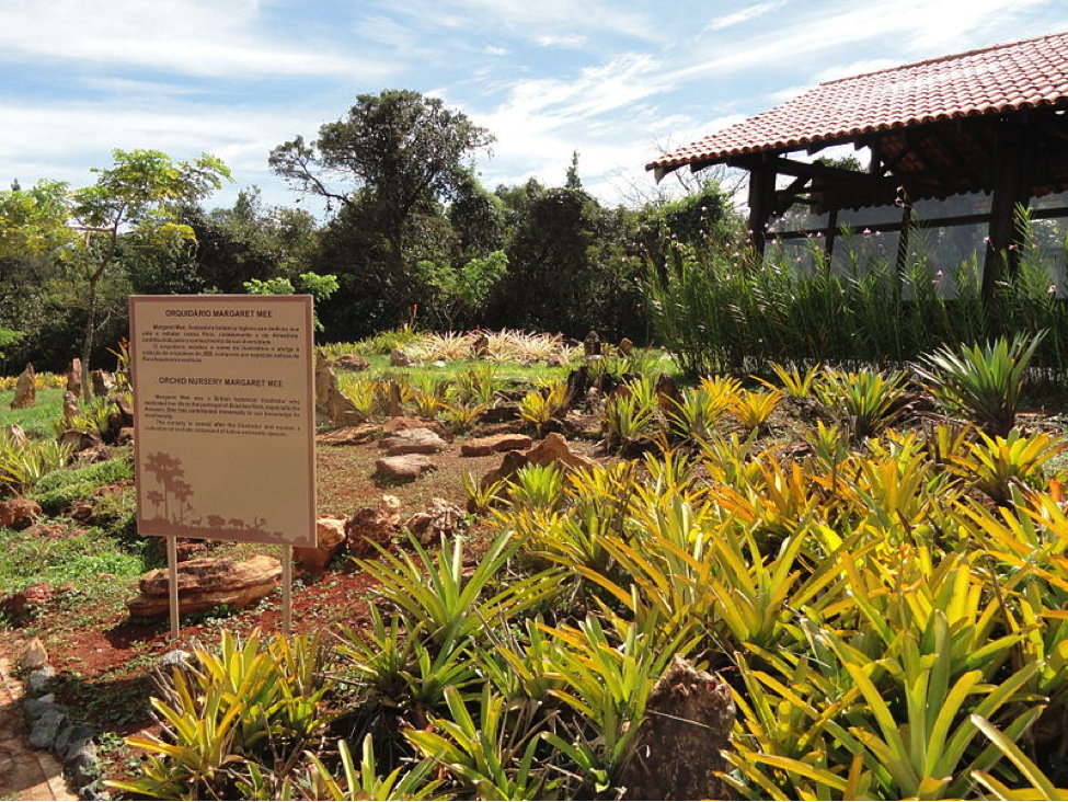 Orchid Nursery Margaret Mee, Jardim Botânico de Brasília, Brasilia, Brazil