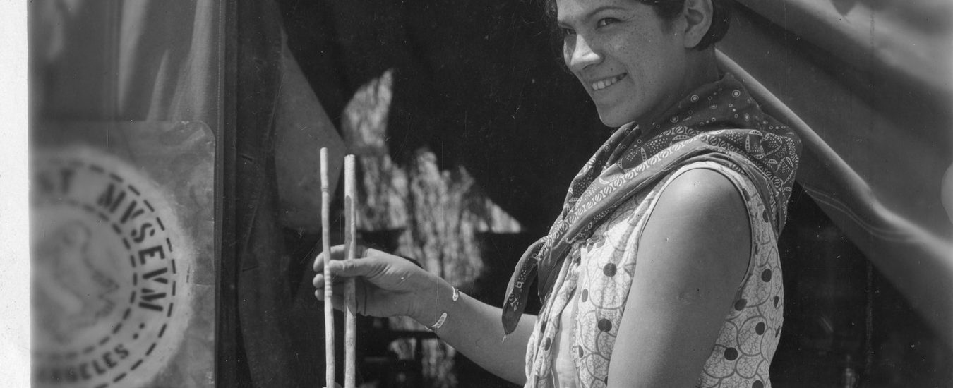 Bertha Parker Pallan [Cody] (1907-1978) is considered one of the first female Native American archaeologists.
